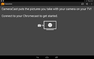 Screenshot of CameraCast for Chromecast