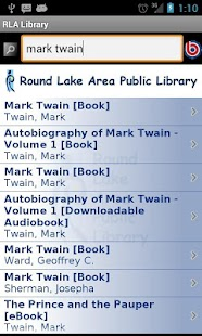 Round Lake Area Library- screenshot thumbnail