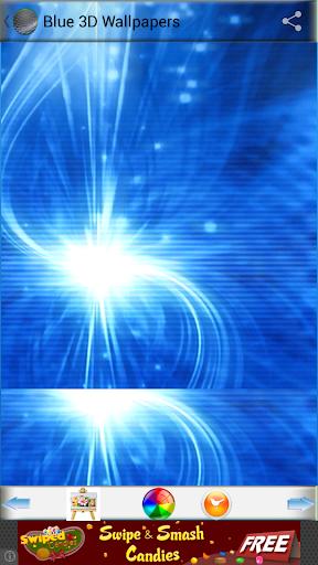 蓝3D壁纸