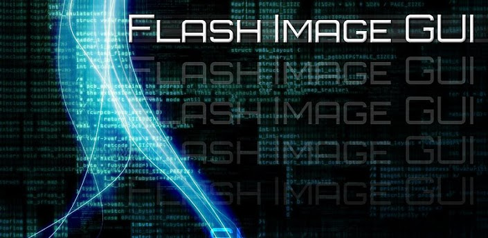 Flash Image GUI