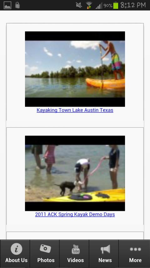 Austin Kayak - screenshot