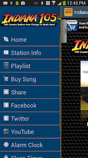 Indiana 105.5 - screenshot thumbnail