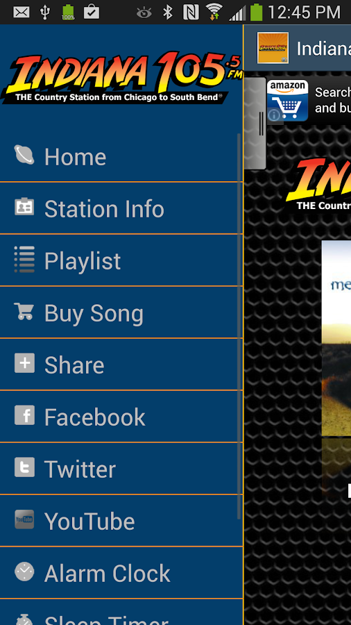 Indiana 105.5 - screenshot