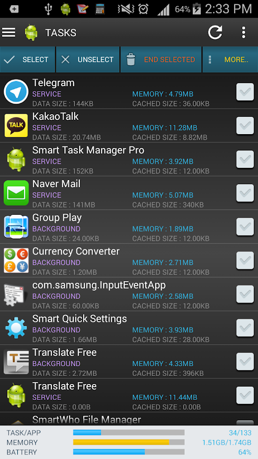 Smart Task Manager Pro - screenshot