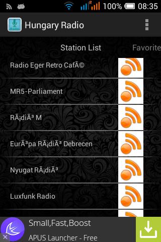 Hungary Radio Station