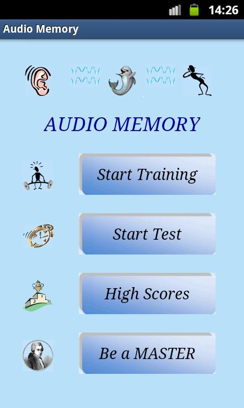 Audio Memory LITE- screenshot