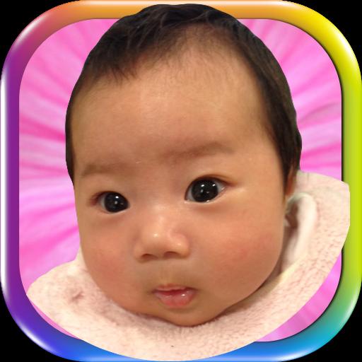 赤ちゃん生後2ヶ月表情あてクイズかわいいよ