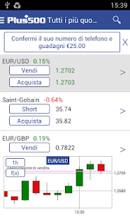 Plus500 Trading Online- miniatura screenshot