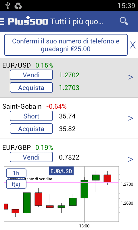 Plus500 Trading Online- screenshot