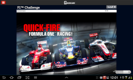 Racing Games Access For Tablet 1.0 screenshot 68210