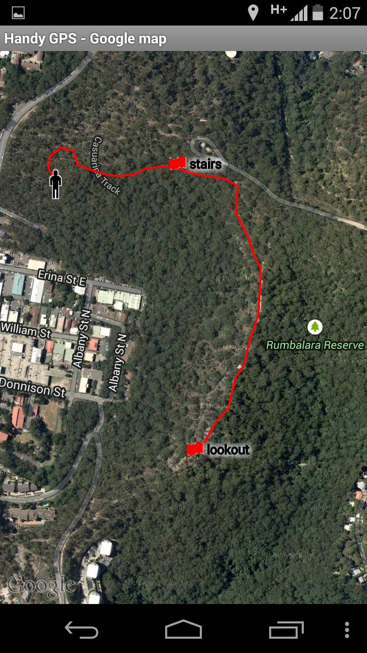 Handy GPS Screenshot 2