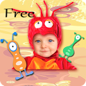 Fantasy Kids Photo Collage icon