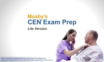 Screenshot of Mosby's CEN® Exam Prep Lite