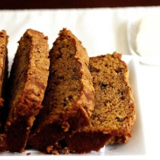 Pecan-Pumpkin Bread with Cinnamon-Honey Butter.