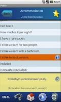Screenshot of EasyTalk Learn Polish