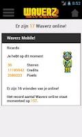 Screenshot of Weebz Mobile