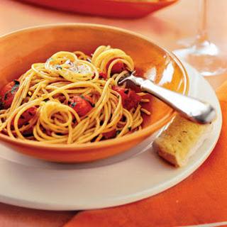 Garlic-Herb Pasta.