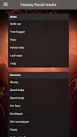 Screenshot of Fantasy Insult Generator