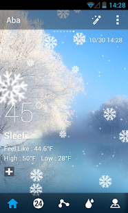 Default Dynamic 2.0 GO Weather- screenshot thumbnail