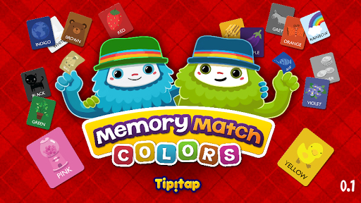 Colors Memory Match