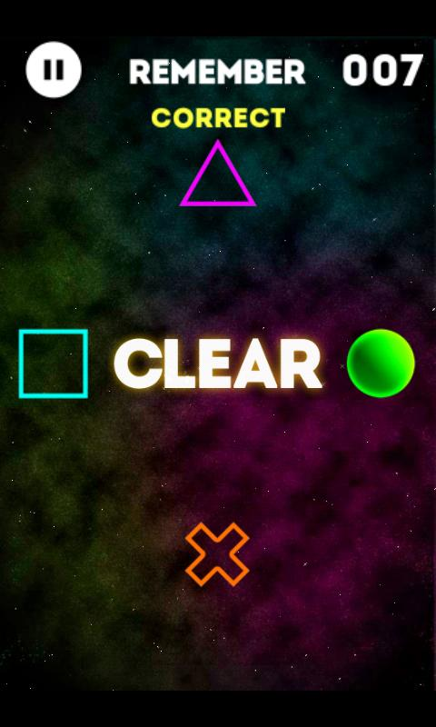 Flick Shapes- screenshot