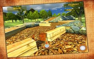 Screenshot of Forest Golf