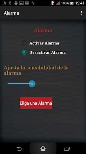 Alarma de movimiento