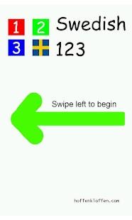 Swedish 123 BabyMoz- screenshot thumbnail