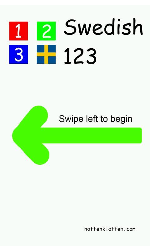Swedish 123 BabyMoz- screenshot