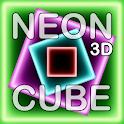 NEON CUBE 3D Live Wallpaper logo