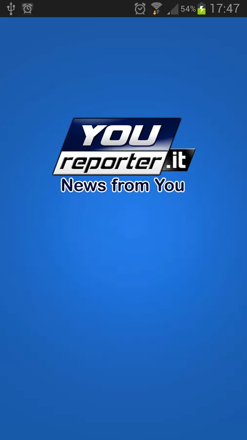 YouReporter- screenshot