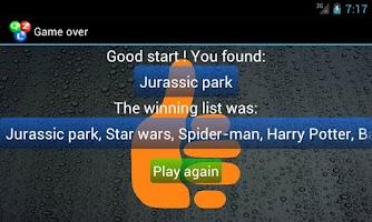 Screenshot of Qizzle pack movies
