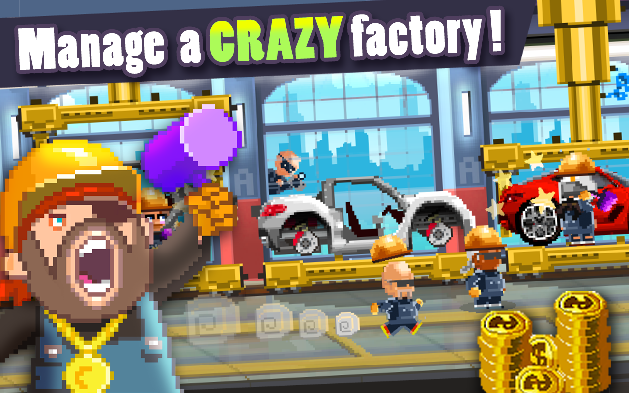 Motor World Car Factory - screenshot