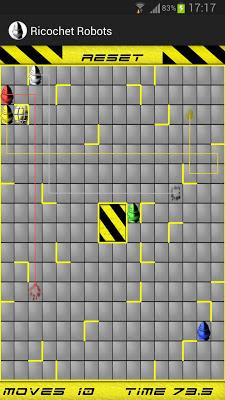 Ricochet Robots - screenshot