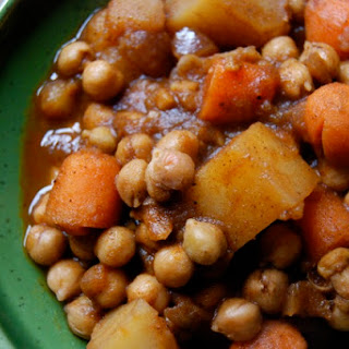 Ethiopian-Style Chickpea Stew.