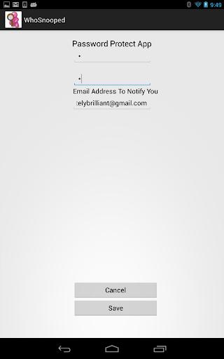【免費個人化App】WhoSnooped?  Catch Them In Act-APP點子