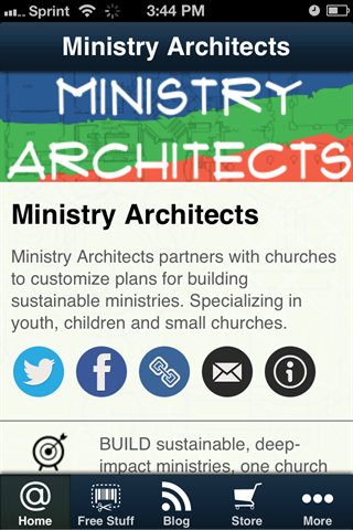 Ministry Architects- screenshot