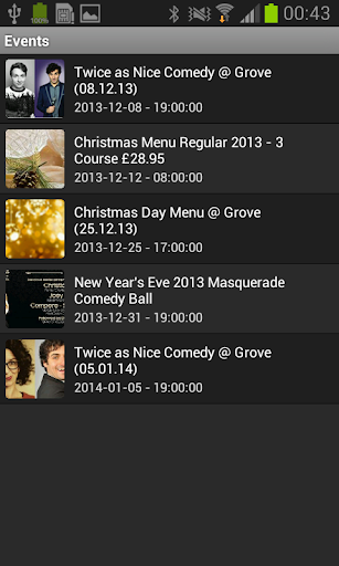 The Grove's Mobile App