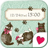 Cute wallpaper★antique cat
