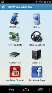 ISORM Computers App- screenshot thumbnail
