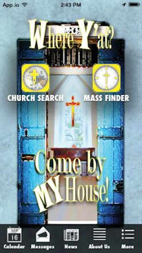The Where Y'at Mass Finder