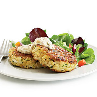 Crab Cakes with Spicy Rémoulade.