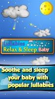 Screenshot of Lullabies Relax & Sleep Baby