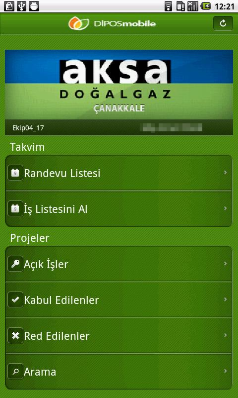 Dipos Mobile- screenshot