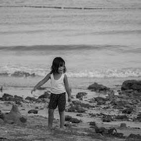 My Sandcastle  by Kean Low - Babies & Children Children Candids