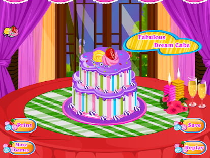 Birthday cake decoration games android apps on google play for 143dressup games decoration