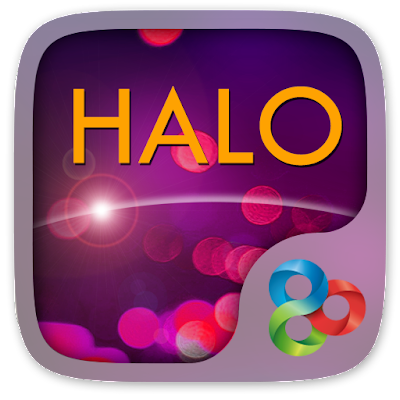 Halo GO Launcher Theme