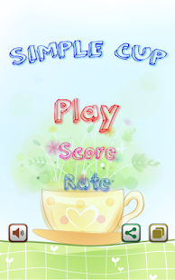 Simple Cup Game - free play- screenshot thumbnail