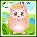 Baby Hedgehog Caring icon