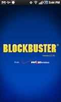 Screenshot of Blockbuster for HTC